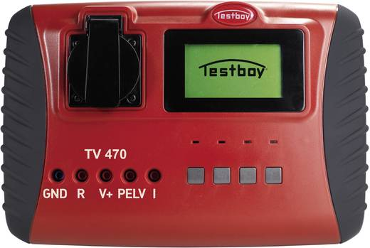 Gerätetester Testboy TV 470 VDE 0701/0702, DIN EN 62353 (VDE 0751-1) Kalibriert nach DAkkS