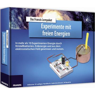Lernpaket Franzis Verlag LP Experimente mit freien Energien 978-3-645-65277-3 ab 14 Jahre Preisvergleich