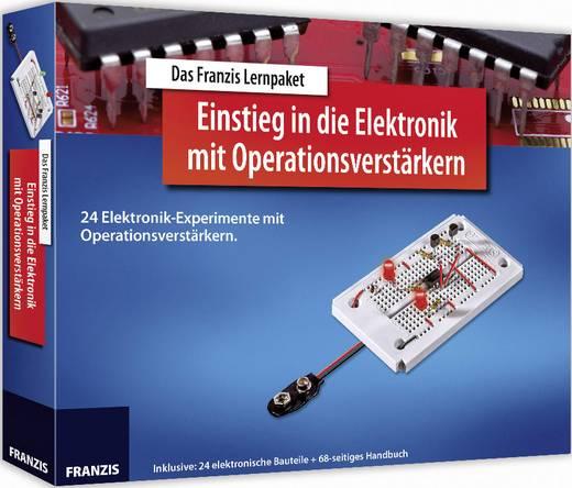 Lernpaket Franzis Verlag Lernpaket Einstieg in die Elektronik mit Operationsverstärkern 978-3-645-65254-4 ab 14 Jahre