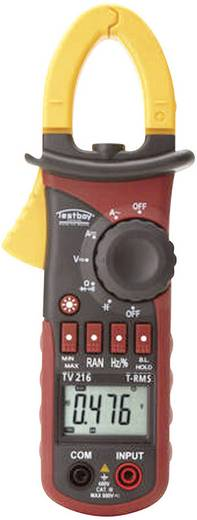 Stromzange, Hand-Multimeter digital Testboy TV 216N Kalibriert nach: ISO CAT III 600 V Anzeige (Counts): 6600