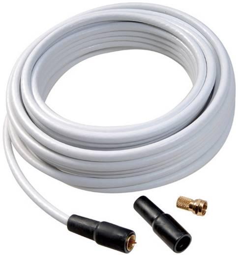 Koaxialkabel 75 Ω 110 dB Weiß Vivanco 44063 1 Set