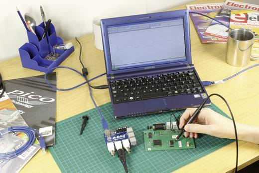 pico PP707 USB Datenaufzeichnungsgerät, Oszilloskop-Vorsatz, Data-Logger, Signalgenerator PP707