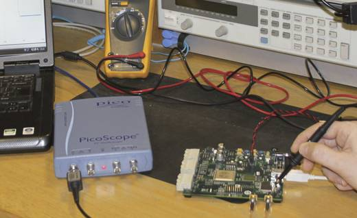USB-Oszilloskop pico PP711 100 MHz 2-Kanal 250 MSa/s 32 Mpts 8 Bit Digital-Speicher (DSO), Funktionsgenerator, Spectrum