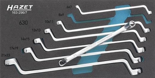 Doppel-Ringschlüssel-Satz 7teilig 6 - 22 mm DIN 838, ISO 10104 Hazet 163-296/7