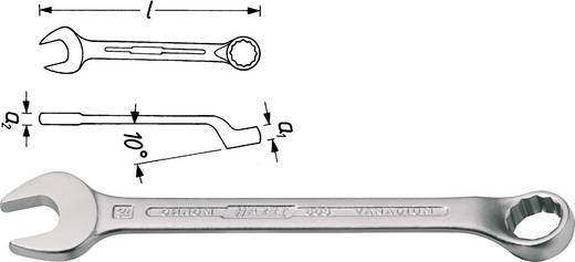 Ring-Maulschlüssel 15 mm DIN 3113 Form B, ISO 3318, ISO 7738 Hazet 603-15