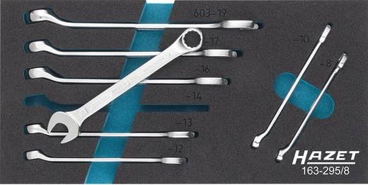 Ring-Maulschlüssel-Satz 8teilig 8 - 19 mm DIN 3113 Form A, ISO 3318, ISO 7738 Hazet 163-295/8