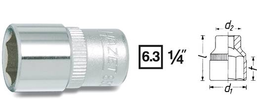 "Außen-Sechskant Steckschlüsseleinsatz 9/16"" 1/4"" (6.3 mm) Produktabmessung, Länge 25 mm Hazet 850A-9/16"
