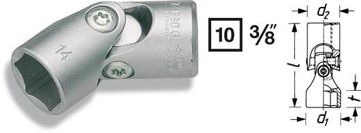 "Außen-Sechskant Gelenk-Steckschlüsseleinsatz 17 mm 3/8"" (10 mm) Produktabmessung, Länge 46 mm Hazet 880G-17"