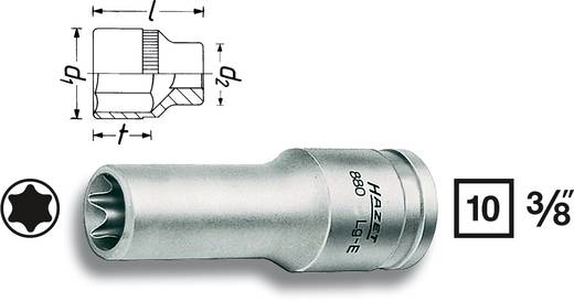 "Außen-TORX Steckschlüsseleinsatz T 12 3/8"" (10 mm) Hazet 880LG-E12"