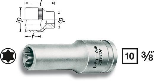 "Außen-TORX Steckschlüsseleinsatz T 12 3/8"" (10 mm) Produktabmessung, Länge 65 mm Hazet 880LG-E12"