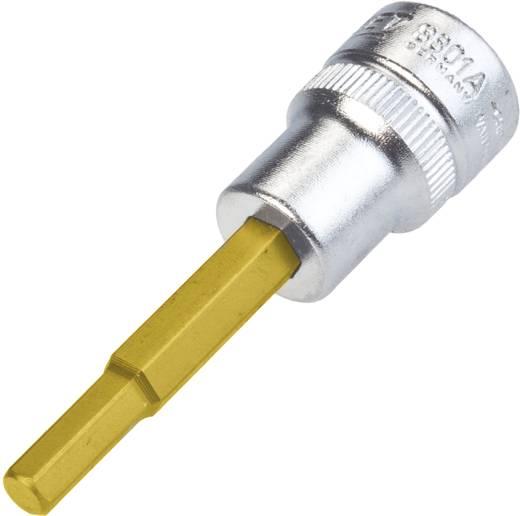 """Innen-Sechskant Steckschlüssel-Bit-Einsatz 3/16"""" 3/8"""" (10 mm) Hazet 8801A-3/16"""