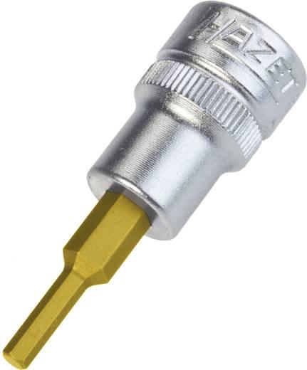 """Innen-Sechskant Steckschlüssel-Bit-Einsatz 1/8"""" 3/8"""" (10 mm) Produktabmessung, Länge 50 mm Hazet 8801A-1/8"""
