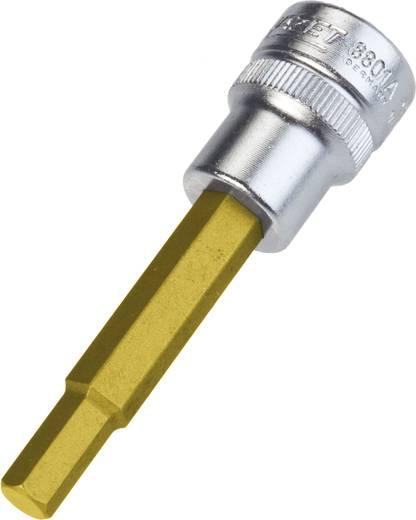 """Innen-Sechskant Steckschlüssel-Bit-Einsatz 1/4"""" 3/8"""" (10 mm) Produktabmessung, Länge 70 mm Hazet 8801A-1/4"""