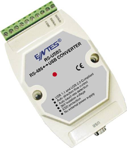 Bus Konverter RS-485, USB ENTES RS-USB2 12 V/DC, 24 V/DC