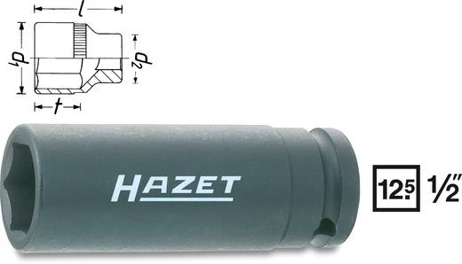 "Außen-Sechskant Kraft-Steckschlüsseleinsatz 13 mm 1/2"" (12.5 mm) Produktabmessung, Länge 85 mm Hazet 900SLG-13"