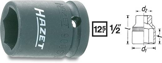 "Außen-Sechskant Kraft-Steckschlüsseleinsatz 19 mm 1/2"" (12.5 mm) Produktabmessung, Länge 40 mm Hazet 900S-19"