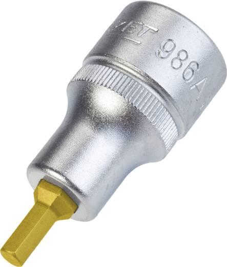 """Innen-Sechskant Steckschlüssel-Bit-Einsatz 3/16"""" 1/2"""" (12.5 mm) Produktabmessung, Länge 52 mm Hazet 986A-3/16"""