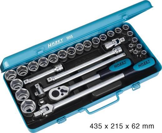 """Steckschlüsselsatz metrisch 1/2"""" (12.5 mm) 30teilig Hazet 905"""
