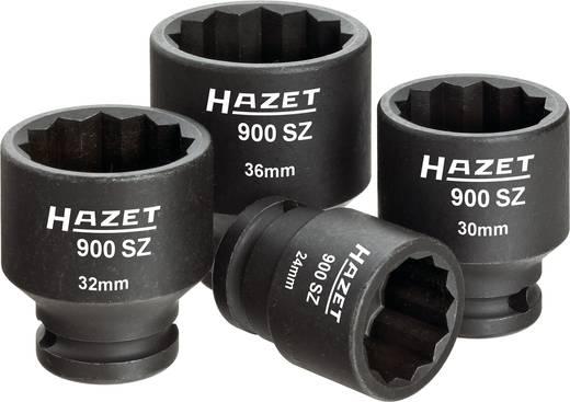 "Außen-Sechskant Kraft-Steckschlüsseleinsatz-Set 4teilig 1/2"" (12.5 mm) Produktabmessung, Länge 44 mm Hazet 900SZ/4"