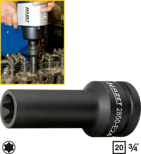 "Außen-TORX Kraft-Steckschlüsseleinsatz T 24 3/4"" (20 mm) Hazet 2850-E24"
