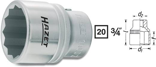 "Außen-Sechskant Steckschlüsseleinsatz 30 mm 3/4"" (20 mm) Produktabmessung, Länge 55 mm Hazet 1000Z-30"