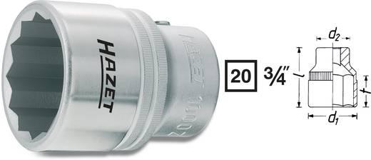 "Außen-Sechskant Steckschlüsseleinsatz 34 mm 3/4"" (20 mm) Produktabmessung, Länge 60 mm Hazet 1000Z-34"