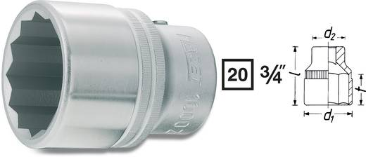 "Außen-Sechskant Steckschlüsseleinsatz 1 13/16"" 3/4"" (20 mm) Produktabmessung, Länge 73 mm Hazet 1000AZ-1.13/16"