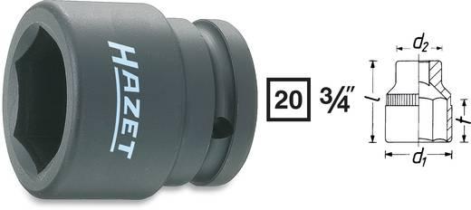 "Außen-Sechskant Kraft-Steckschlüsseleinsatz 27 mm 3/4"" (20 mm) Produktabmessung, Länge 51 mm Hazet 1000S-27"