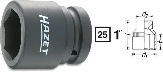 "Außen-Sechskant Kraft-Steckschlüsseleinsatz 27 mm 1"" (25 mm) Produktabmessung, Länge 60 mm Hazet 1100S-27"