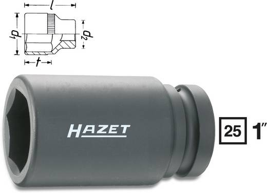 "Außen-Sechskant Kraft-Steckschlüsseleinsatz 27 mm 1"" (25 mm) Produktabmessung, Länge 110 mm Hazet 1100SLG-27"