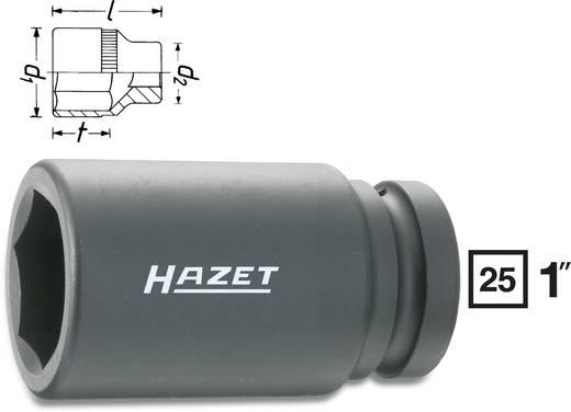 "Außen-Sechskant Kraft-Steckschlüsseleinsatz 38 mm 1"" (25 mm) Produktabmessung, Länge 110 mm Hazet 1100SLG-38"