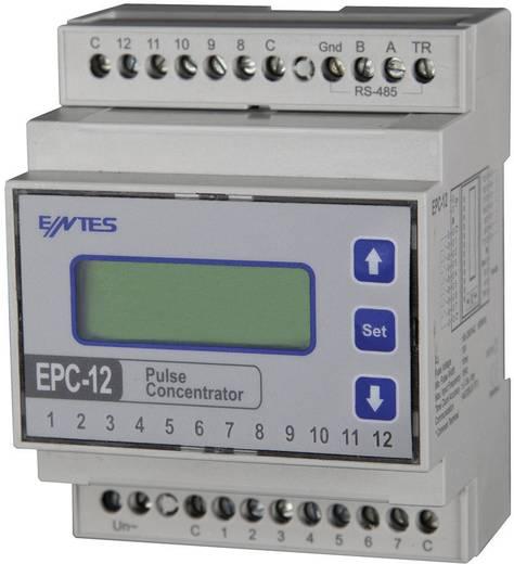 ENTES EPC-12 EPC-12 Impulskonzentrator mit 12 Zähleingängen für Hutschiene,