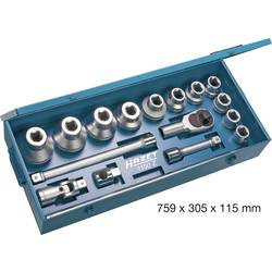 """Súprava nástrčných kľúčov Hazet 1100Z, 1"""" (25 mm), 17-dielna"""