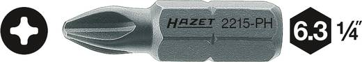 Kreuzschlitz-Bit PH 2 Hazet Sonderstahl C 6.3 1 St.