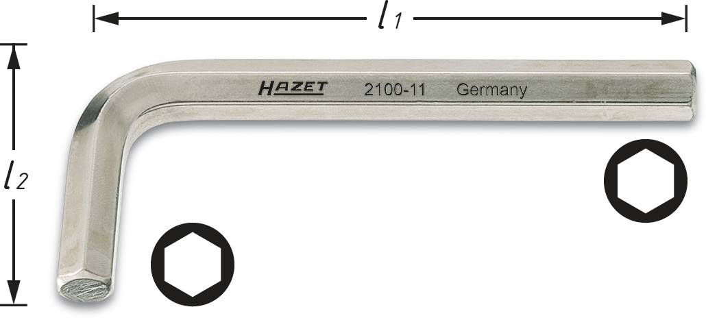 HAZET 2100A-3//32 Winkelschraubendreher