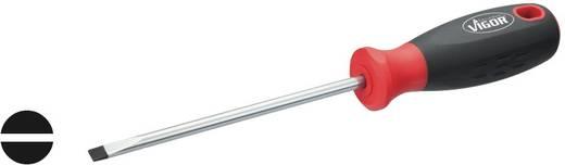 Werkstatt Schlitz-Schraubendreher Vigor Klingenbreite: 5.5 mm Klingenlänge: 125 mm