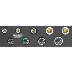 """Súprava nástrčných kľúčov a bitov, Torx, vonkajší TORX Hazet 163-252/9, 3/8"""" (10 mm), chrom-vanadová ocel, Speciální ocel , 9-dielna"""