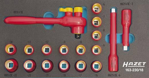 """Steckschlüsselsatz metrisch 3/8"""" (10 mm) 18teilig Hazet 163-230/18"""