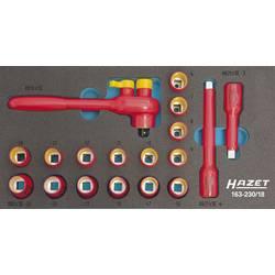 """Súprava nástrčných kľúčov Hazet 163-230/18, 3/8"""" (10 mm), 18-dielna"""