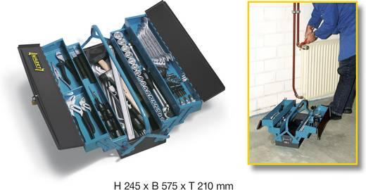 Werkzeugkasten bestückt Hazet 190/80 Metall Blau