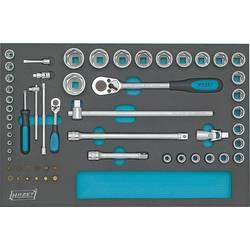 """Súprava nástrčných kľúčov Hazet 163-57/56, 1/4"""" (6,3 mm), 1/2"""" (12.5 mm), 56-dielna"""