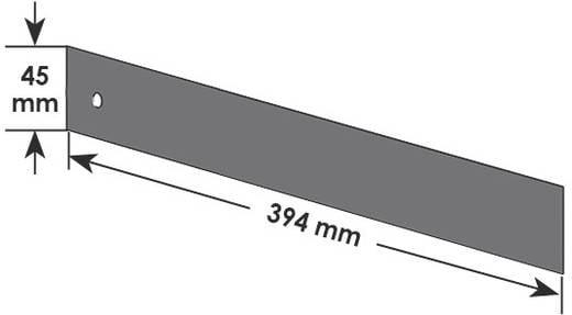 Vigor 1000 Trennblechsatz Vigor V2398