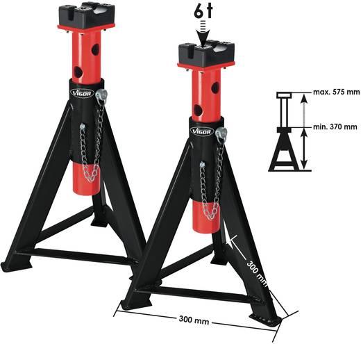 Unterstellböcke 6 t 370 mm 575 mm 6 t Vigor V2648