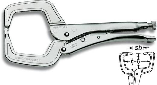 Klammer-Gripzange 0 - 90 mm 280 mm Hazet 758-2