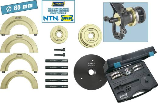 Kompakt-Radnaben-Lagereinheit-Werkzeug-Satz Hazet 4934-2585/12