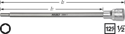 "Innen-Sechskant Steckschlüssel-Bit-Einsatz 6 mm 1/2"" (12.5 mm) Hazet 2584"