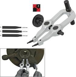 Sada nástrojů pro demontáž pojistných kroužků, 7dílná Vigor V2867