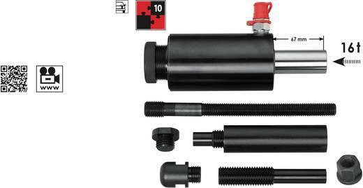 Druck- und Zug-Hydraulikzylinder 16 t, 9-teilig Vigor V2855