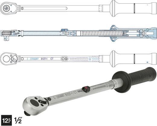 """Drehmomentschlüssel mit Umschaltknarre 1/2"""" (12.5 mm) 67.8 - 339 Nm Hazet 6128-1CT 6128-1CT"""