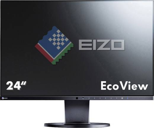 LED-Monitor 61.2 cm (24.1 Zoll) EIZO EV2455-BK EEK A 1920 x 1200 Pixel WUXGA 5 ms DisplayPort, HDMI™, DVI, VGA IPS LED